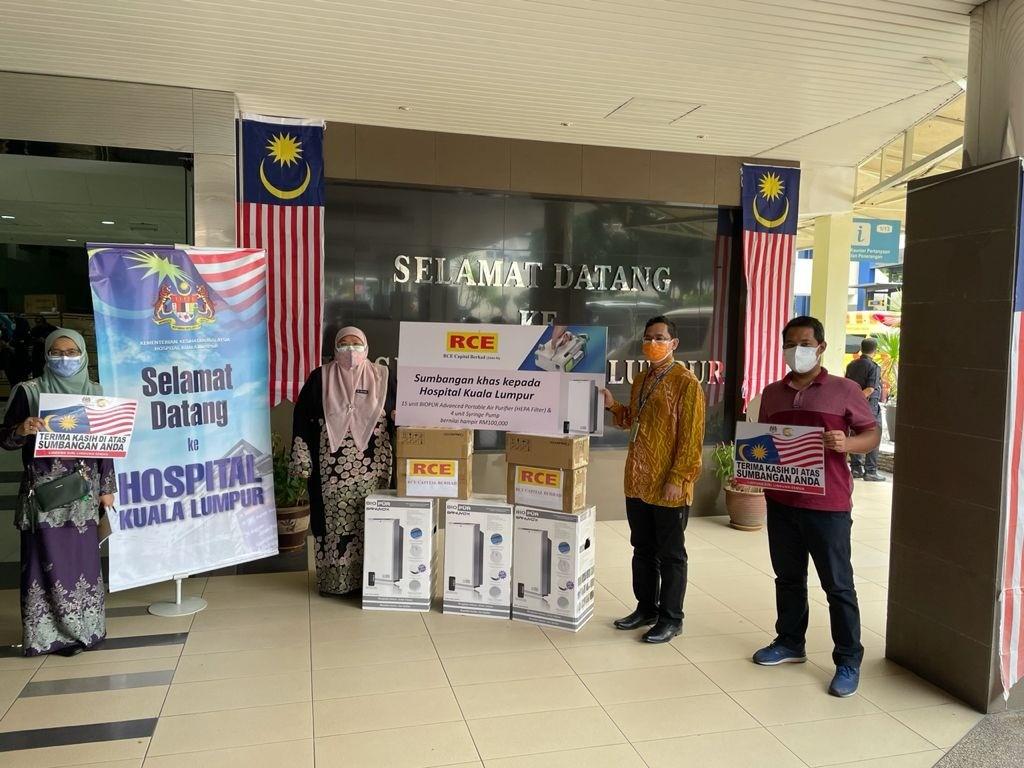Read more about the article Sumbangan Peralatan Perubatan di Hospital Kuala Lumpur.